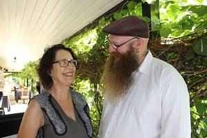 Patricia Morgan and Andre Van Eymeren