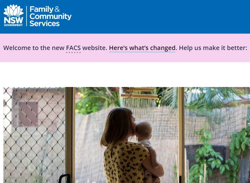 New FACS website pic